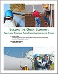Buiilding the green economy